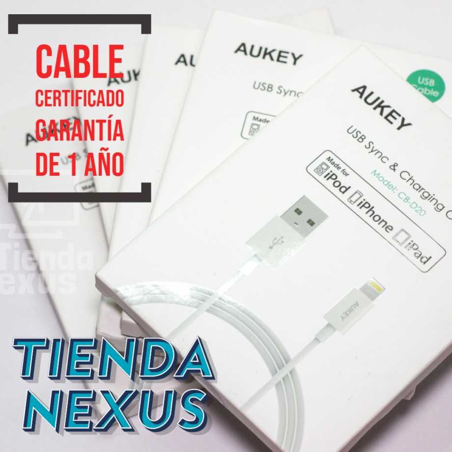 cable usb aukey iphone