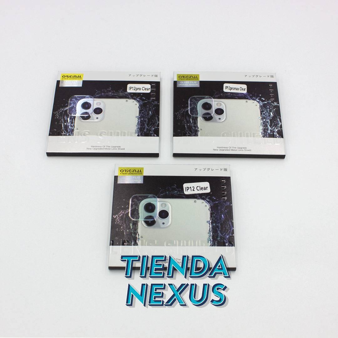 protector de lente de cámara de iPhone 12